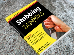 Stabbing For Dummies Cover Display